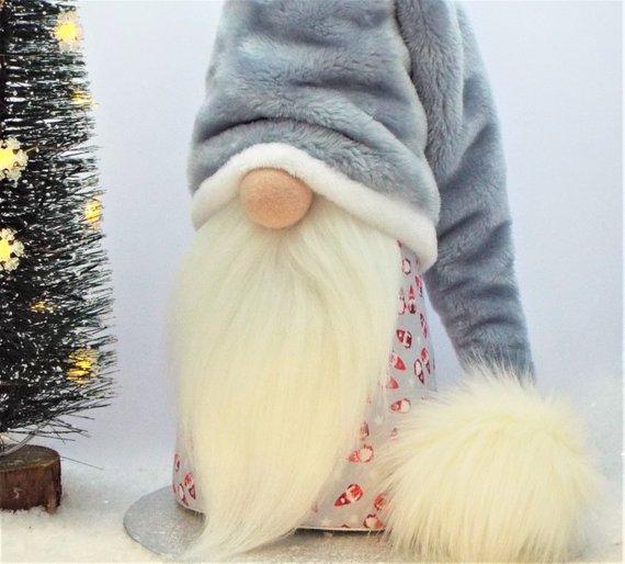 гномы, гномики, куклы текстильные, своими руками, игрушки мягкие, игрушки новогодние, бородач, домовой, как сделать гномика, игрушка на конусе, игрушка на Новый год, Игрушки на Рождество, рождественский декор, новогодний декор, свадебный декор, сувениры, Забавные гномики к Новому году и не только