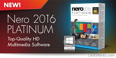 Nero 2016 Platinum v17 With Crack