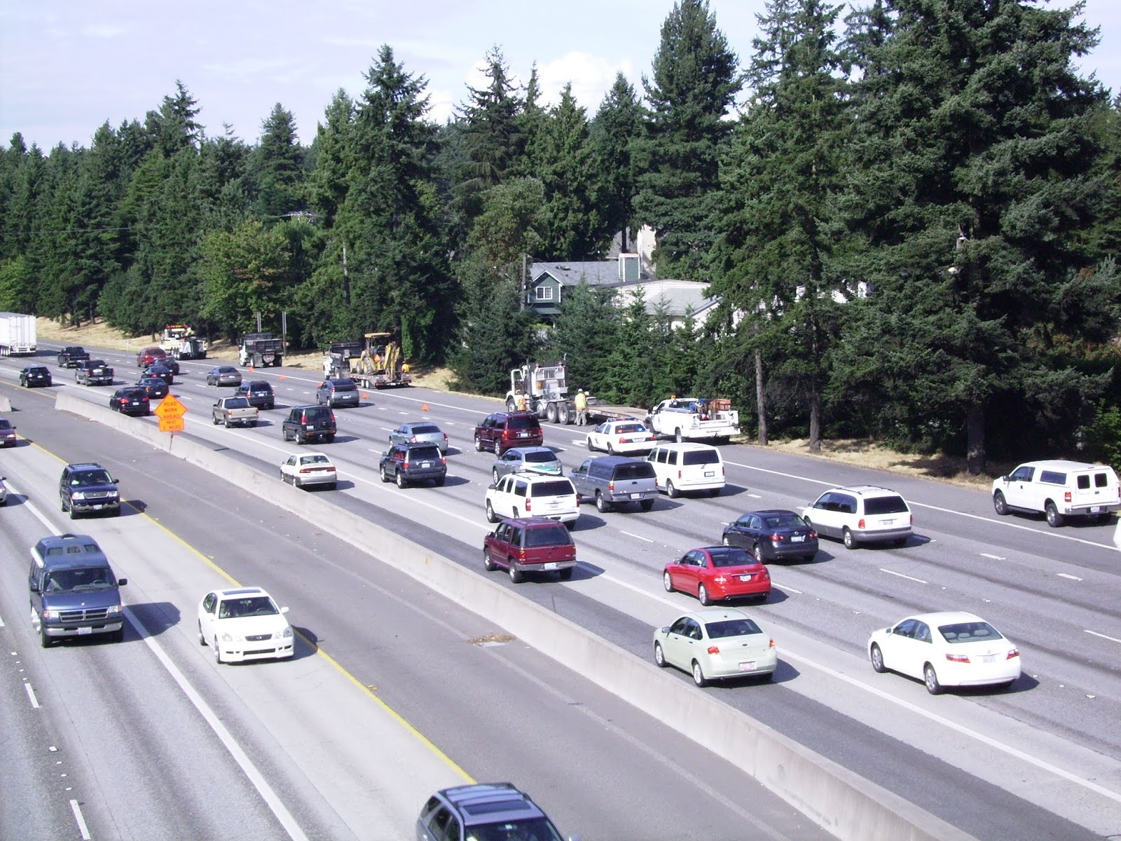 Overnight Lane And Ramp Closures On Northbound I 5 In Seattle