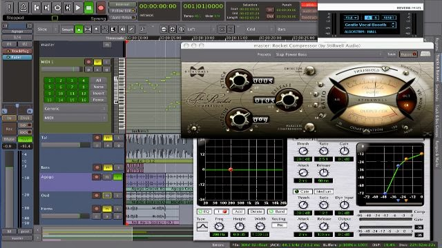 Ardour audio mixing software linux