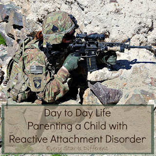 Day to day life parenting a child with Reactive Attachment Disorder