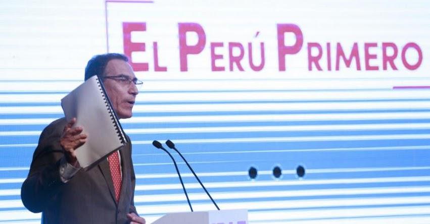 Buscamos que educación sea herramienta de transformación, sostuvo el Presidente Martín Vizcarra