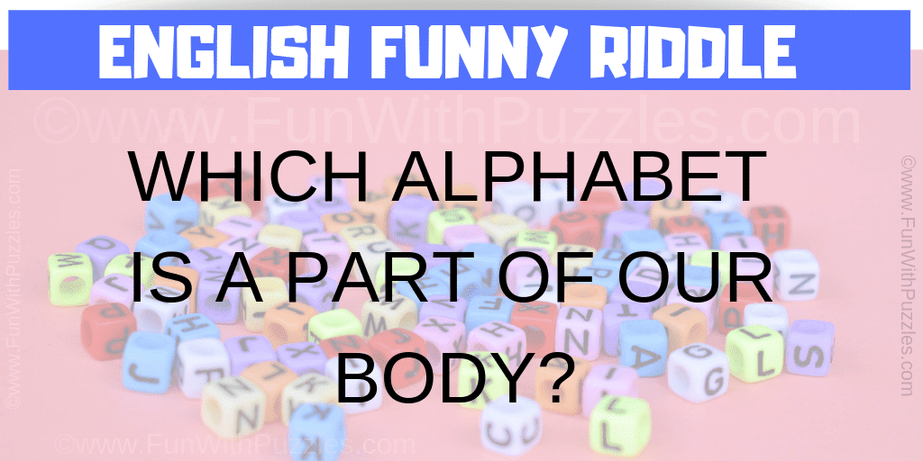 English Funny Riddle for Kids with Answer-Fun With Puzzles