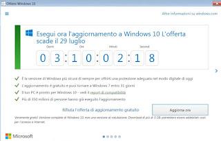 cosa succede senza windows 10