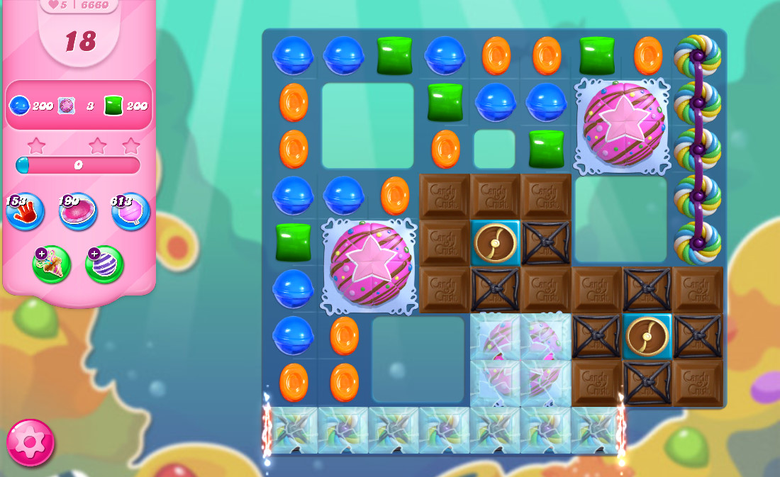 Candy Crush Saga level 6660