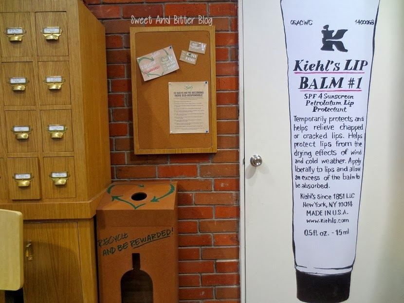 Kiehl's Lip Balm Recycle