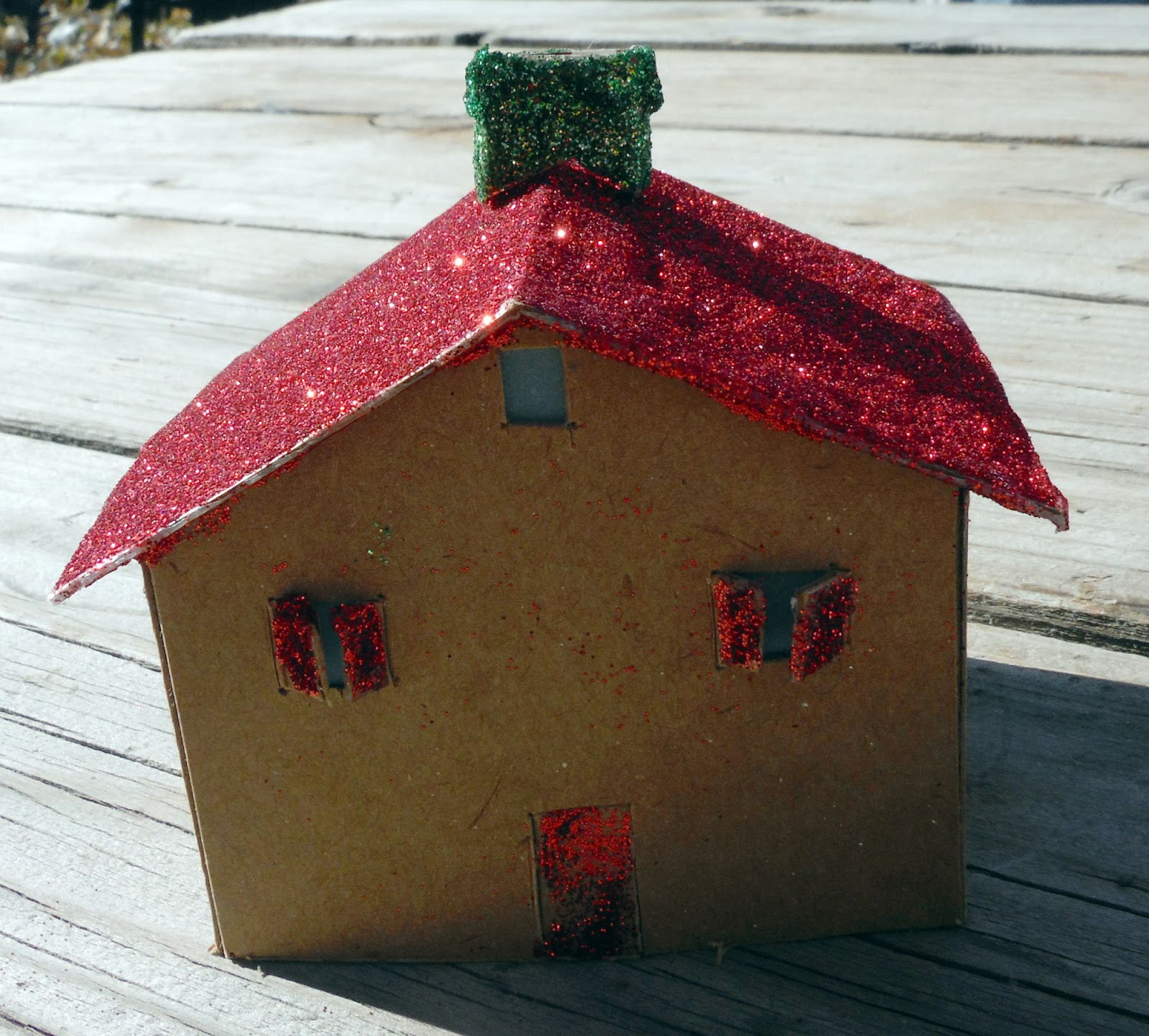 A Need To Create December Daily 9 A Putz House For Natalie