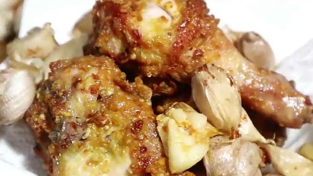 Resep Ayam Goreng Bawang Putih, Aromanya Wangi
