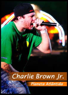 dvd charlie brown jr no planeta atlantida 2012