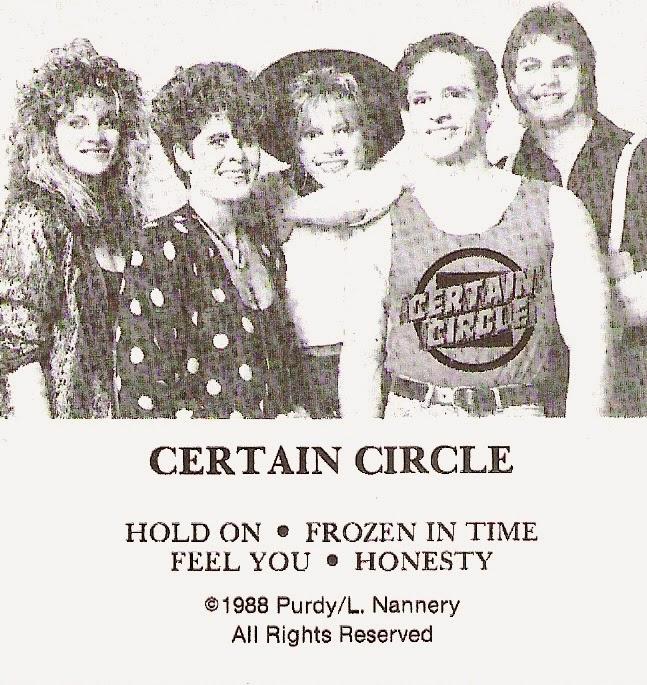 Certain Circle demo 1988 aor melodic rock