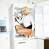 What Is Happening Here? Nicki Minaj Posed For The Camera While In The Fridge [Photo]