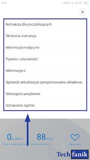 Xiaomi Mi Electric Toothbrush dodatkowe ustawienia w aplikacji Mi Home