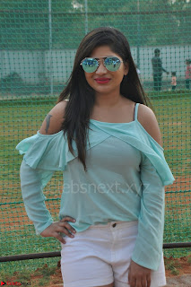 Madhulagna Das looks super cute in White Shorts and Transparent Top 36.JPG