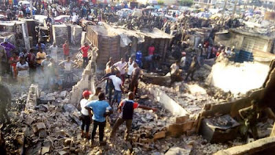 Fire guts 50 shops in Ladipo Auto Spare Parts market