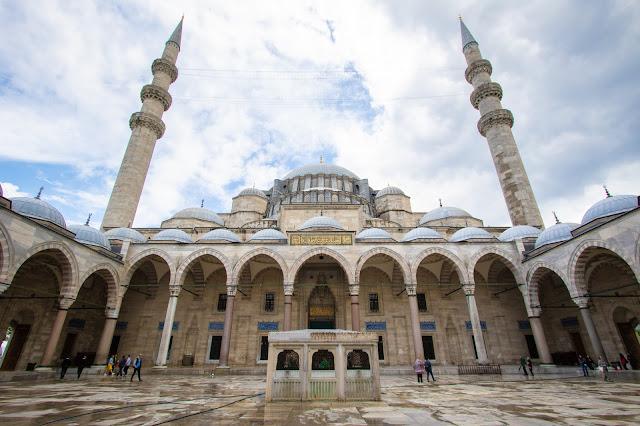 Moschea Suleymaniye Camii-Istanbul