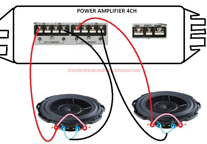free schematic diagram bridging car audio power. Black Bedroom Furniture Sets. Home Design Ideas