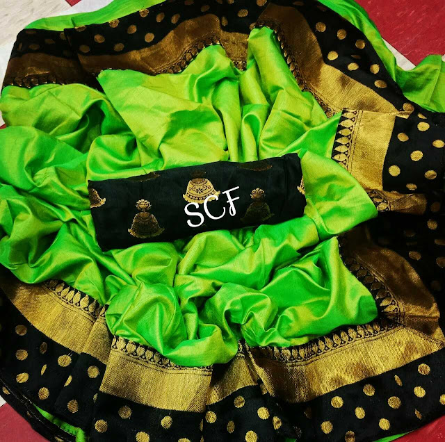 Sana Silk Two tone Sarees