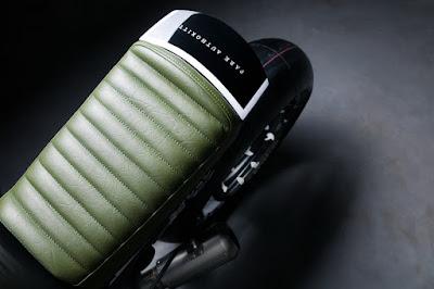 BMW R Nine T Custom  Seat by Diamond Atelier