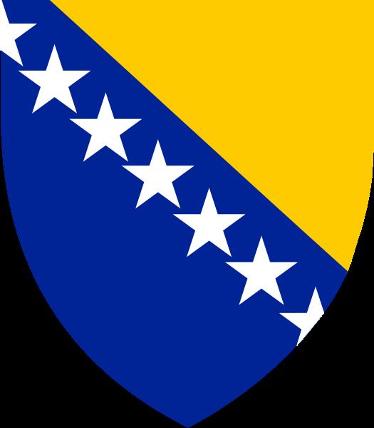 Lambang negara Bosnia dan Herzegovina