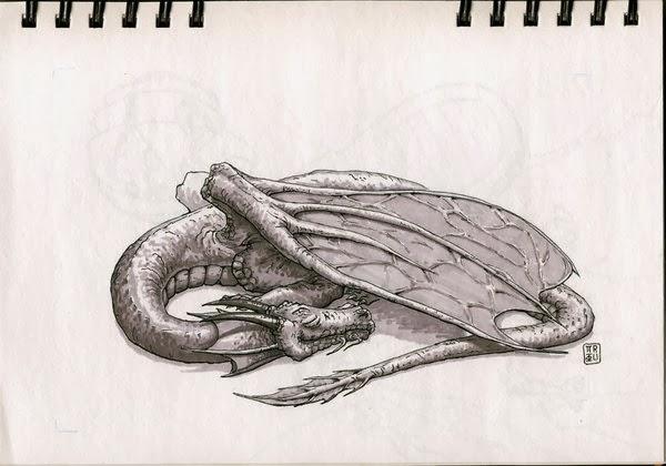 Resultado de imagen para dragon dormido