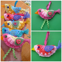 Mini Crochet Bird