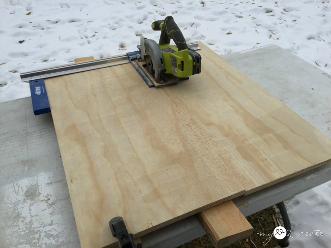 ripping plywood with a kreg rip cut