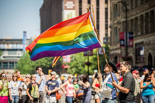 Parada Gay em Barcelona