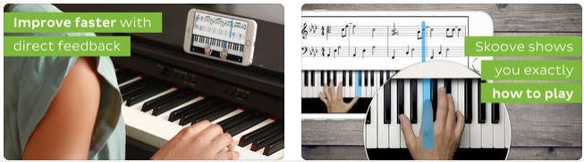 تطبيق-Skoove-Piano-Lessons