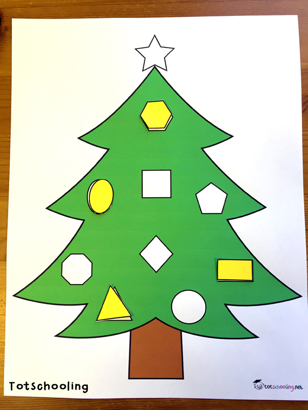 Christmas Tree Learning Activities for Toddlers & PreK ...
