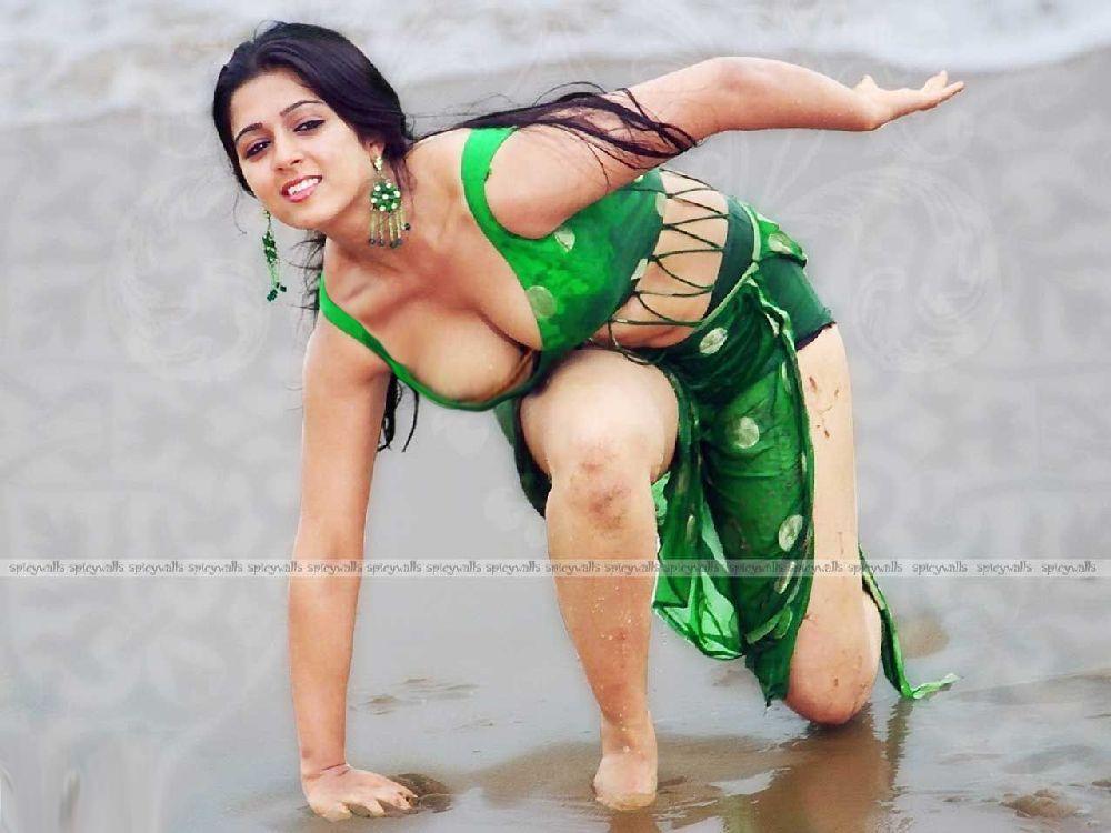 Sameera Reddy Hot Round Butt Show In Trikini Hot Pic