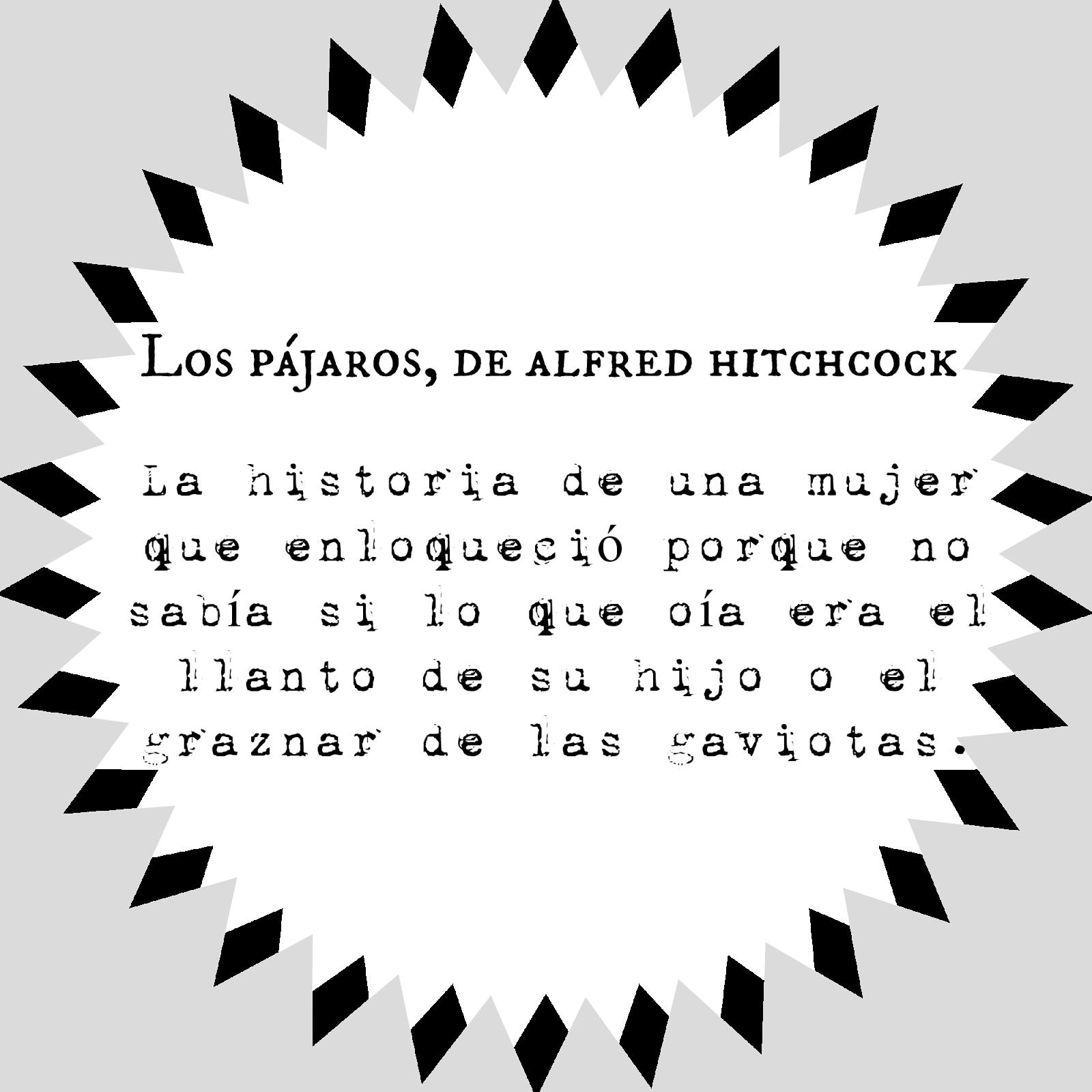 Los pajaros de Alfred Hitchcock