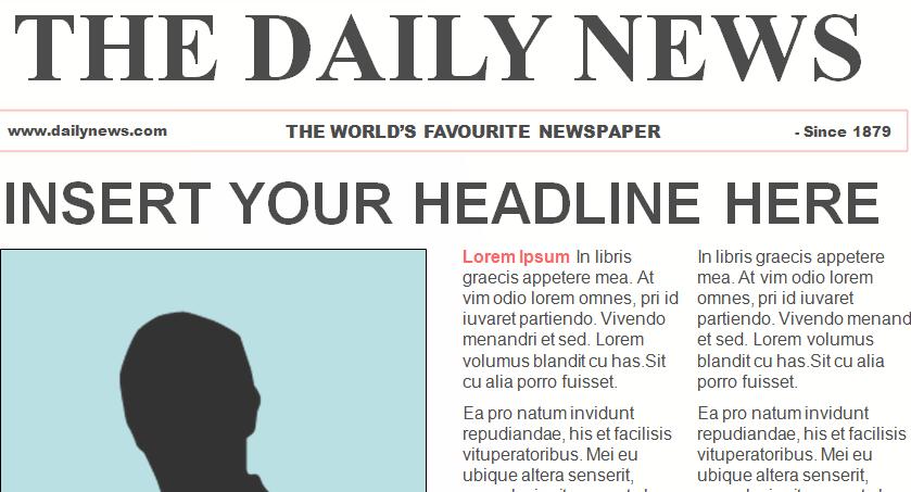 Awesome Free Templates to Create Classroom Newspapers ~ Teachers Tech ...