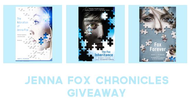 Jenna Fox Chronicles Giveaway