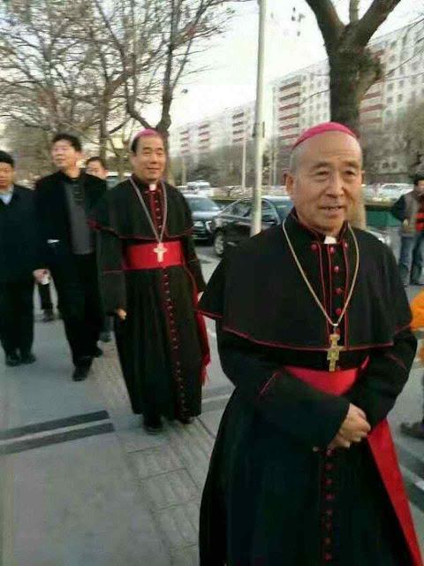 Bispos ilegítimos vão a proferir subserviência ao PC durante a IX Assembleia do Partido em Pequim.