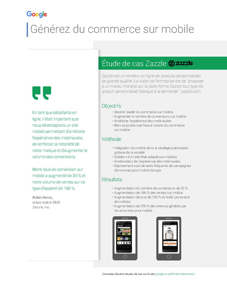 Pigmalyon marketing g n rez du commerce sur mobile for C du commerce