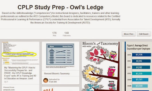 Using Pinterest to Increase Your #CPLP Knowledge Exam Competence & Confidence
