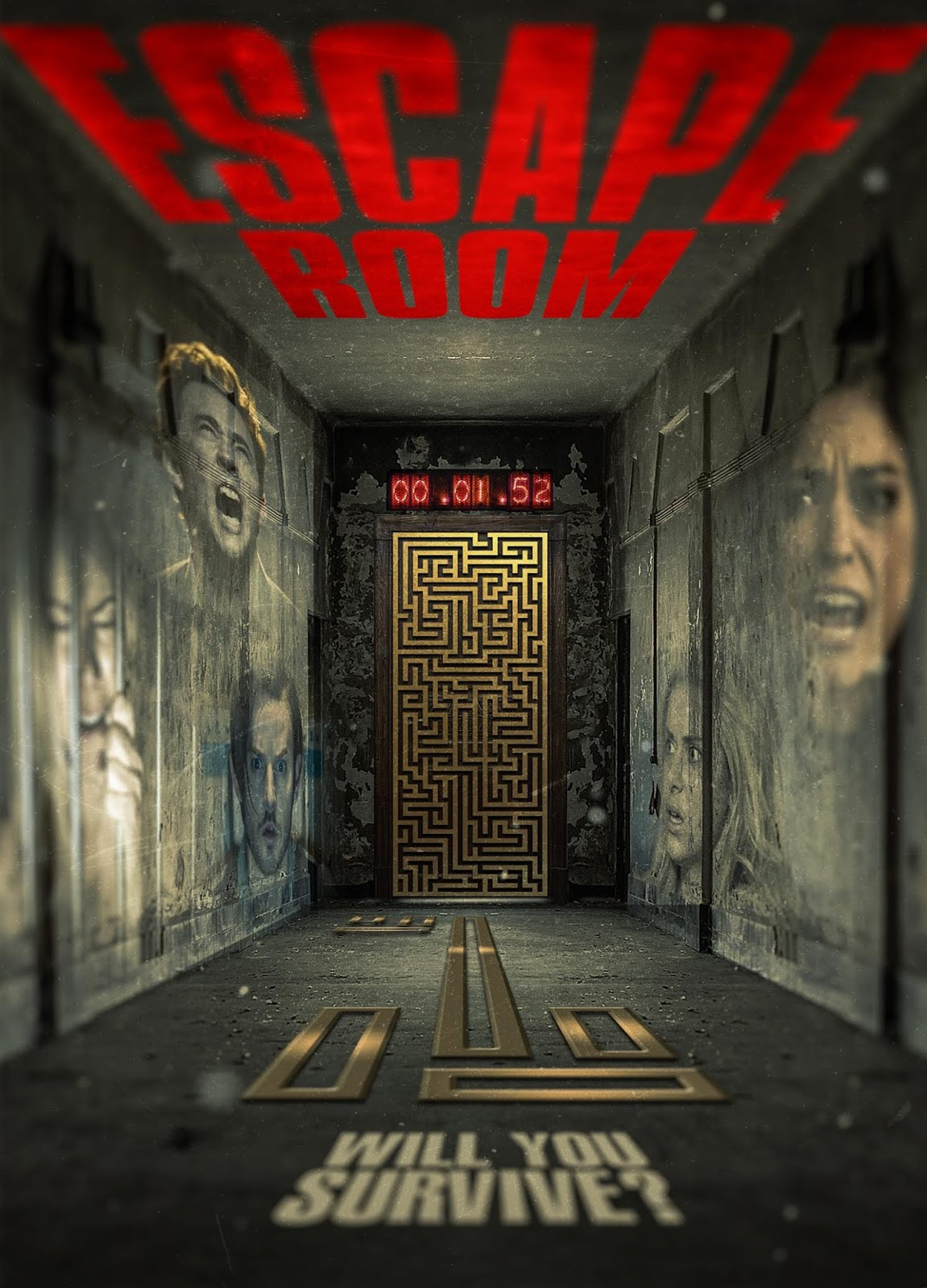 Escape Room [2017] [DVD9] [PAL] [Español]