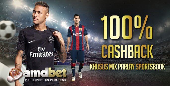 Bonus 100% Mix Parlay