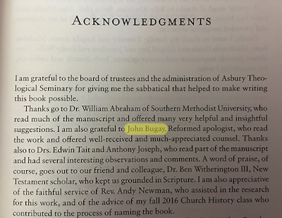 "Acknowledgements page, ""Roman but Not Catholic"""