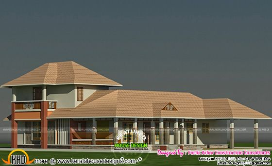 Traditional mix house design by Fortis Arbor