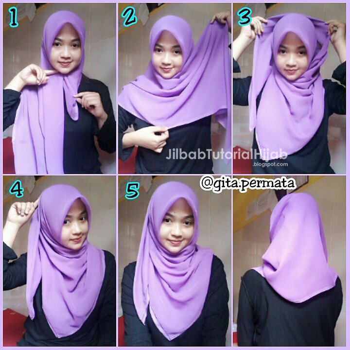 10 simple hijab paris tutorials you can do in less than a minute.