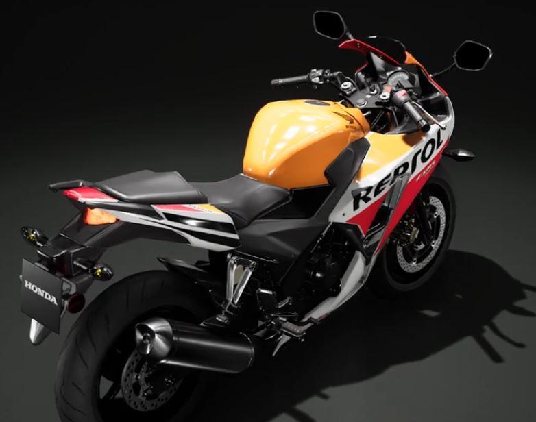 Honda CBR300R 2017