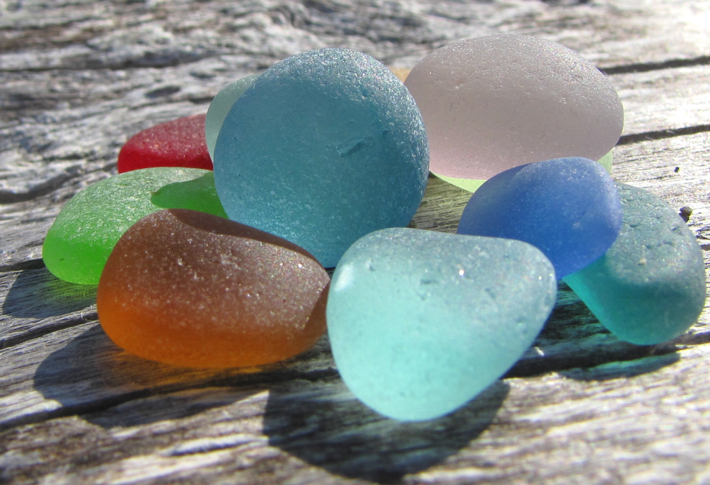 Glasbild Meer The Sea Glass Blog
