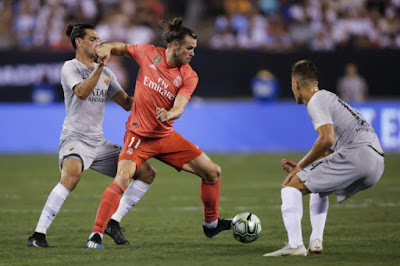 Gareth Bale shines as Real Madrid ends U.S tour