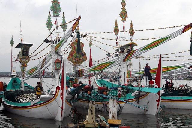 Perahu slerek Muncar.