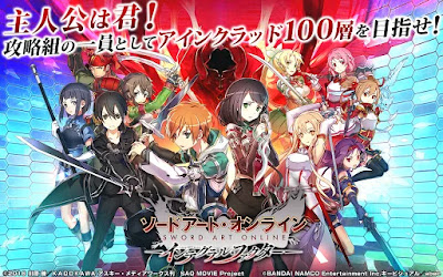 Download Game Sword Art Online Integral Factor English Global Server APK v1.0.1 Game Mod Terbaru Gratis