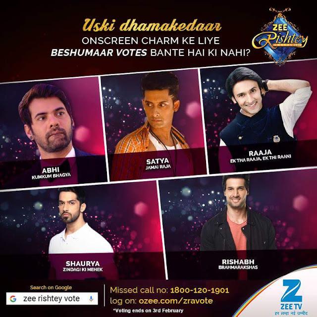 Complete Winners List of Zee Tv Rishtey Awards 2016