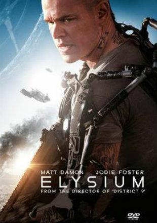 Elysium 2013 Dual Audio BRRip 720p Hindi English ESub