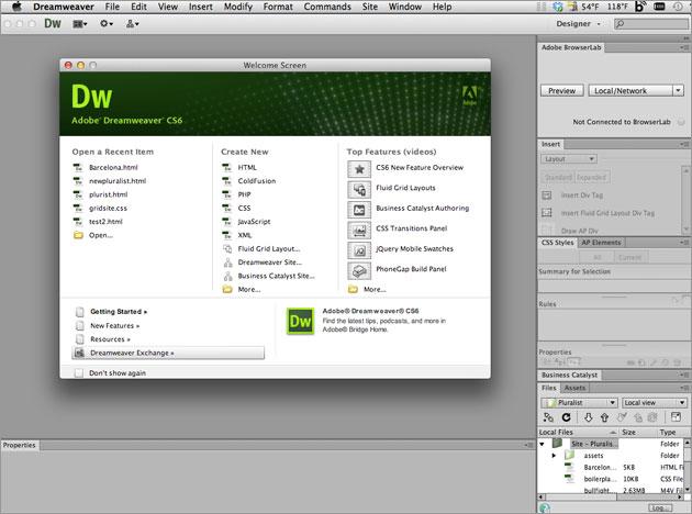 雨落工作室: Adobe Dreamweaver CS6 繁中免安裝版 設計開發網頁超強之選