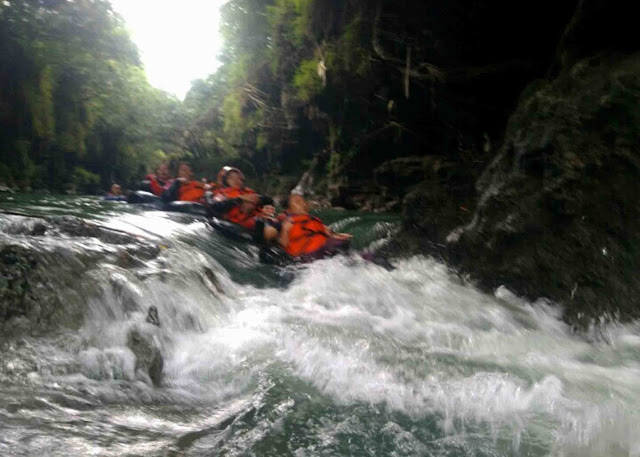 river tubing pangandaran